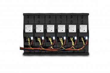 BOS LE300 Lithium Ionen Erweiterungsbatterie Anschluesse