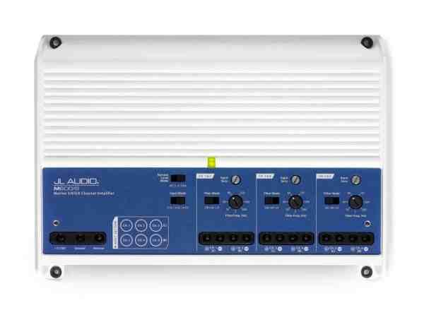 JL Audio M600-6 6-Kanal Marine Verstärker Top