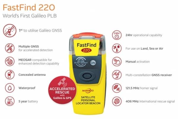 McMurdo FastFind 220 PLB 91-001-220A