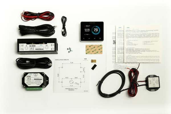 Simarine Pico Standard Batteriemonitor mit SC303 und Zubehör