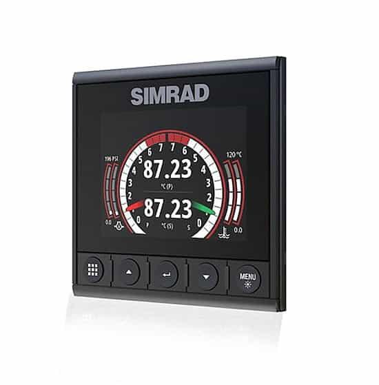 Simrad IS42J Instrumentendisplay Motordaten