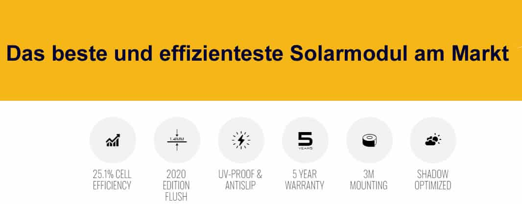 SunBEAM Tough++ Solar Module