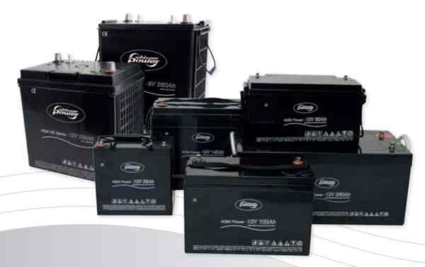 WhisperPower AGM Batterien