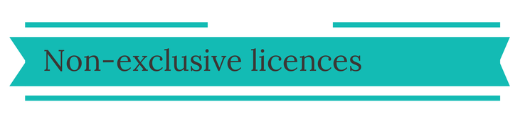 Non Exclusive Licences