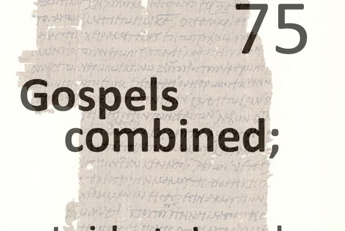 Gospels combined 75 - jericho to jerusalem
