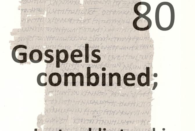 Gospels combined 80 - last public teaching - wed