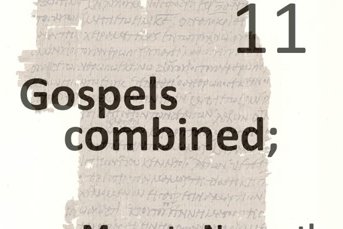 Gospels combined 11 - move to nazareth