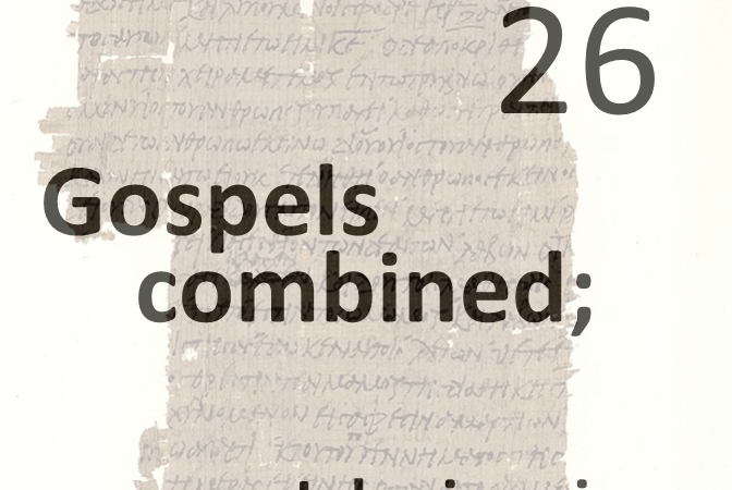 Gospels combined 26 - john in prison
