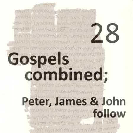 Gospels combined 28 - peter james and john follow