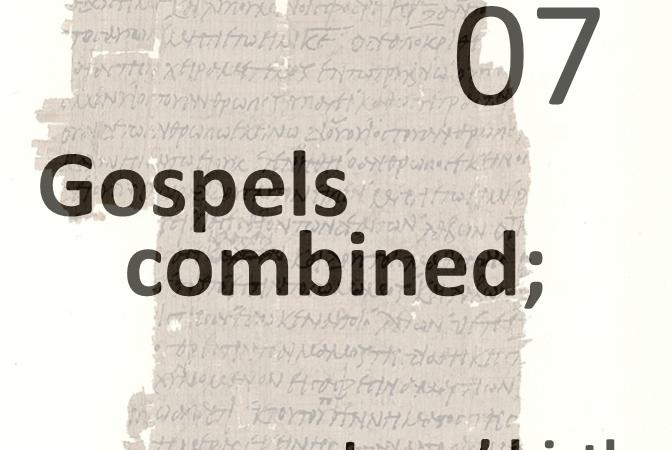 Gospels combined 7 - jesus birth