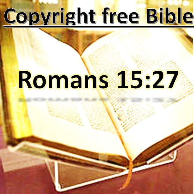 Rom 15:27
