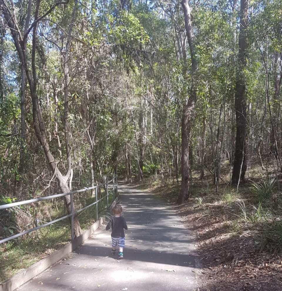 Raven Street Reserve Senses Trail