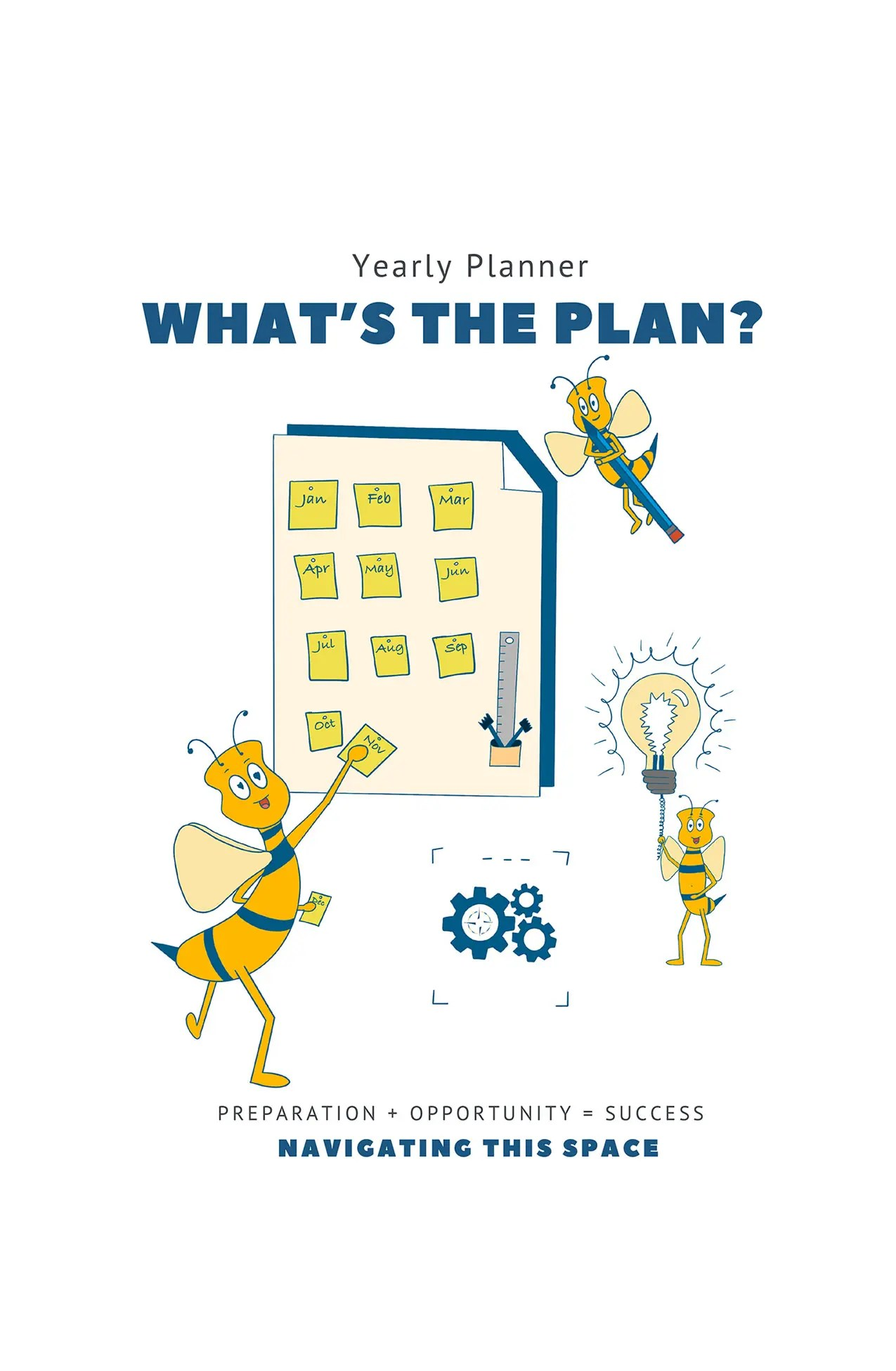 Cover image – Whats the plan yearly Planner