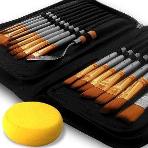 Paint Brush Set of 16