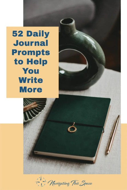 Journal writing in luxury
