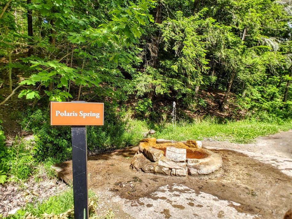 Saratoga Spring: Polaris Spring.
