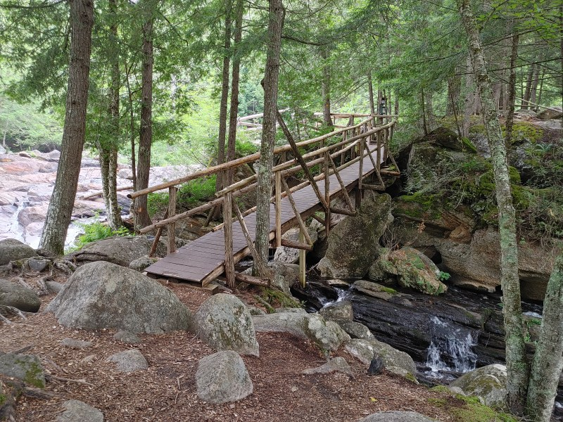 Meditation Isle, natural stone bridge and caves.