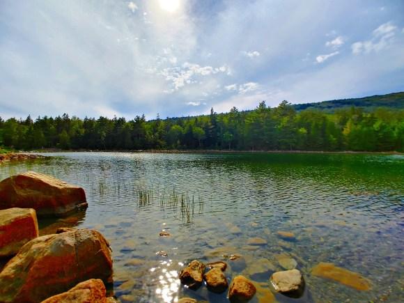 Jordan Pond. Acadia National Park with Kids