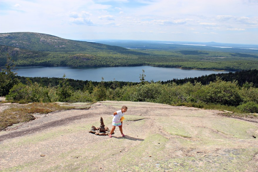 Acadia National Park with kids, Cadillac Mountain