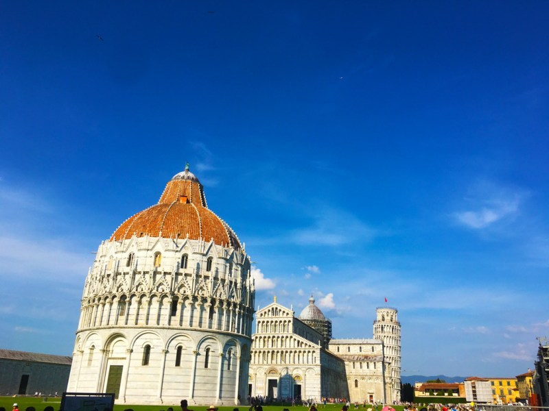 Pisa, day trips from Rome.