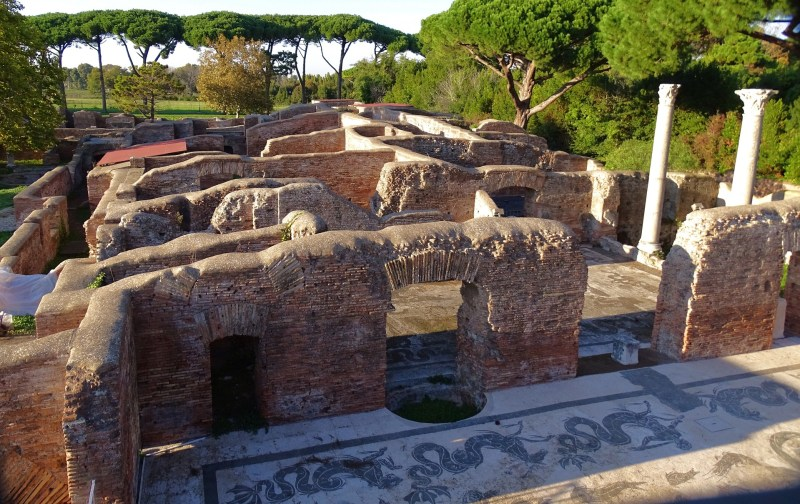 ostia antica, day trips from Rome