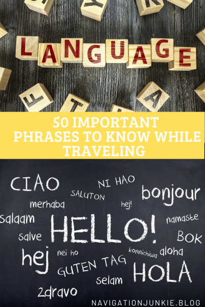 phrases to know for traveling