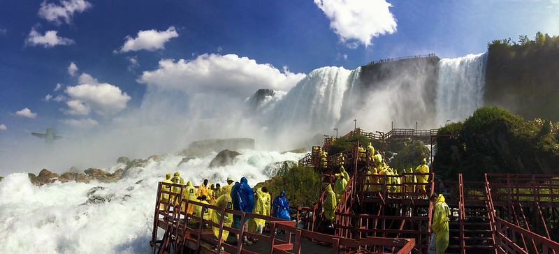 Cave of the Winds, Niagara Falls with kids