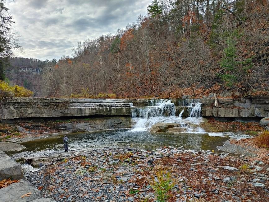 Taughannock Falls State Park, lower falls