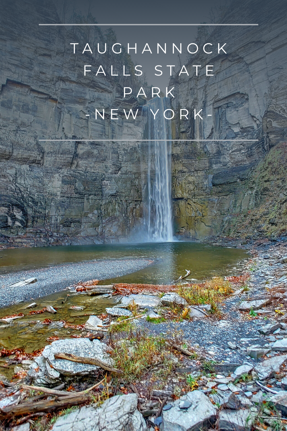 Taughannock Falls State Park located just outside of Ithaca offers plenty of hiking trails and three main water fall views. Discover all this park has to offer!