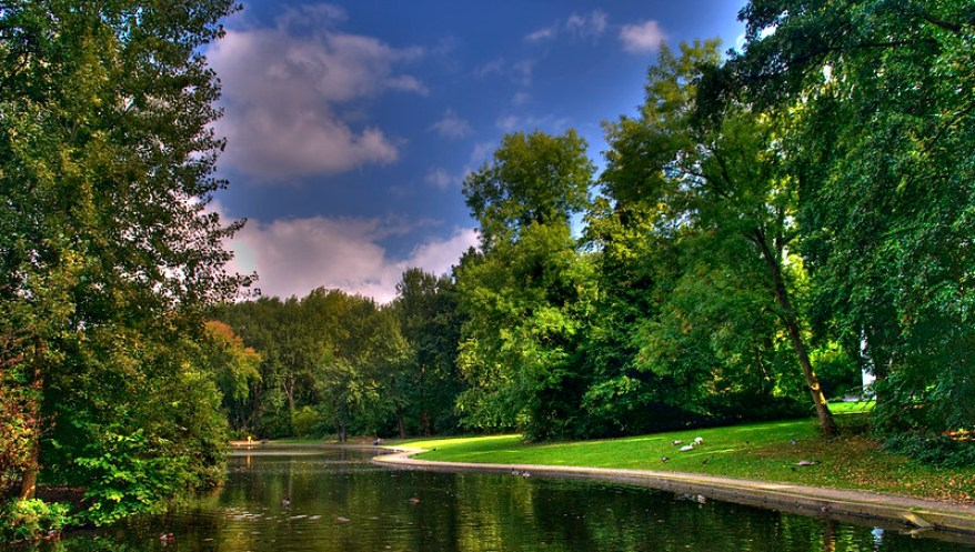 Park Malou, best parks and gardens in Brussels
