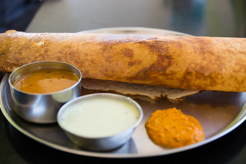Masala Dosa, Vegetarian Food Bucket List