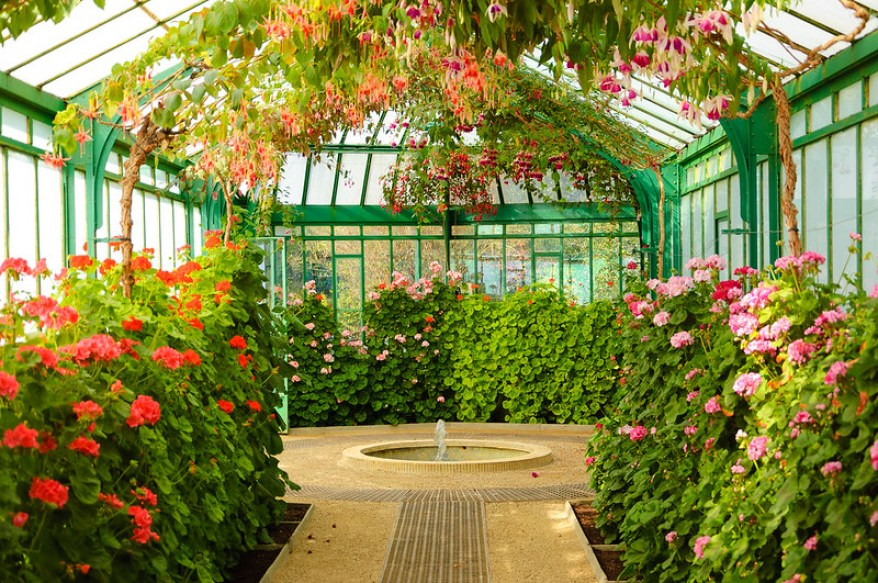 Royal Greenhouses of Laeken, best parks and gardens in Brussels