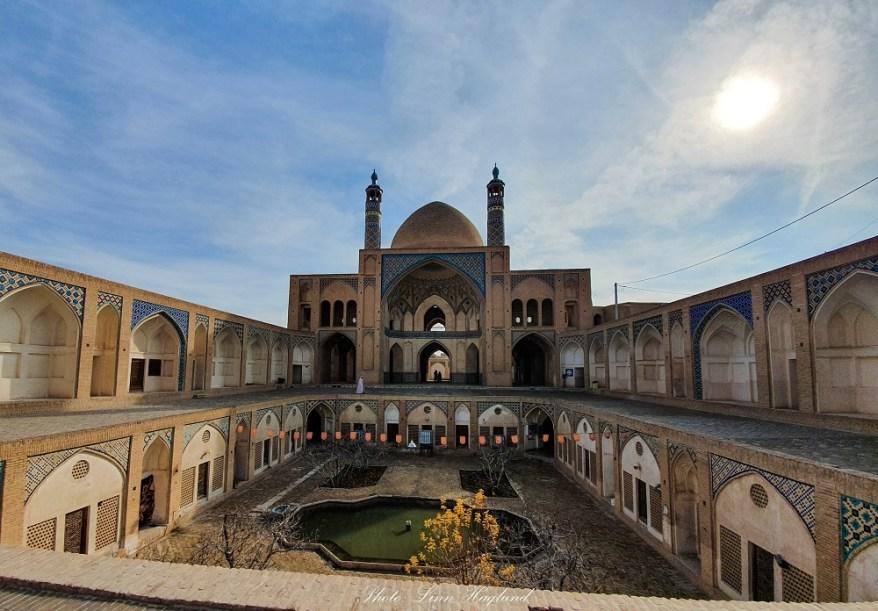 Agha Bozorg Mosque Kashan, Iran
