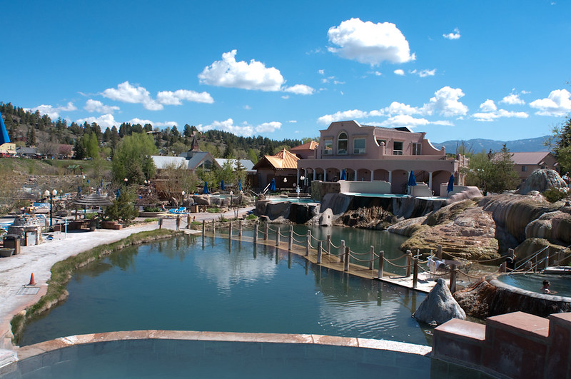 Pagosa Springs, hot springs for families in the USA