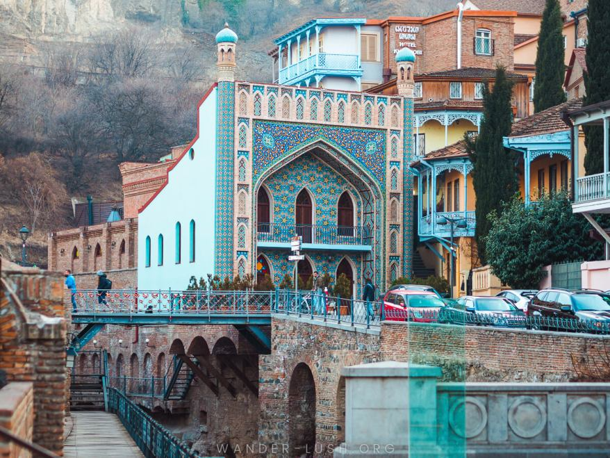 Tbilisi, best hot springs for families in europe