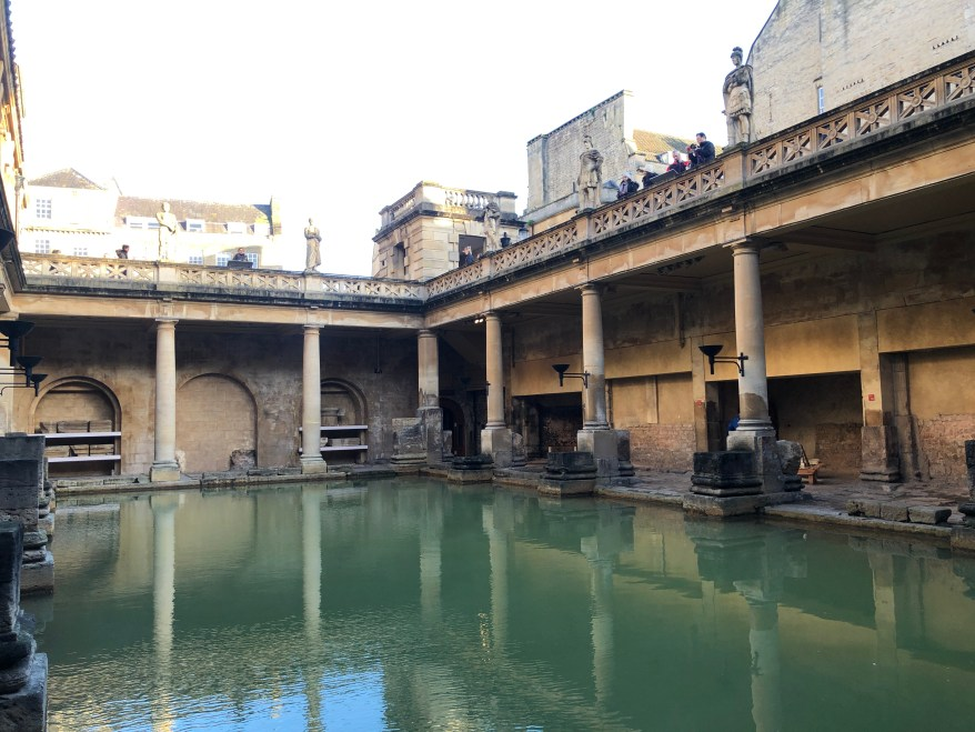 Roman baths, hot springs for families in Europe