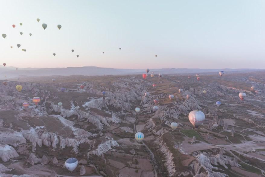 Hot Air Balloons in Cappadocia.