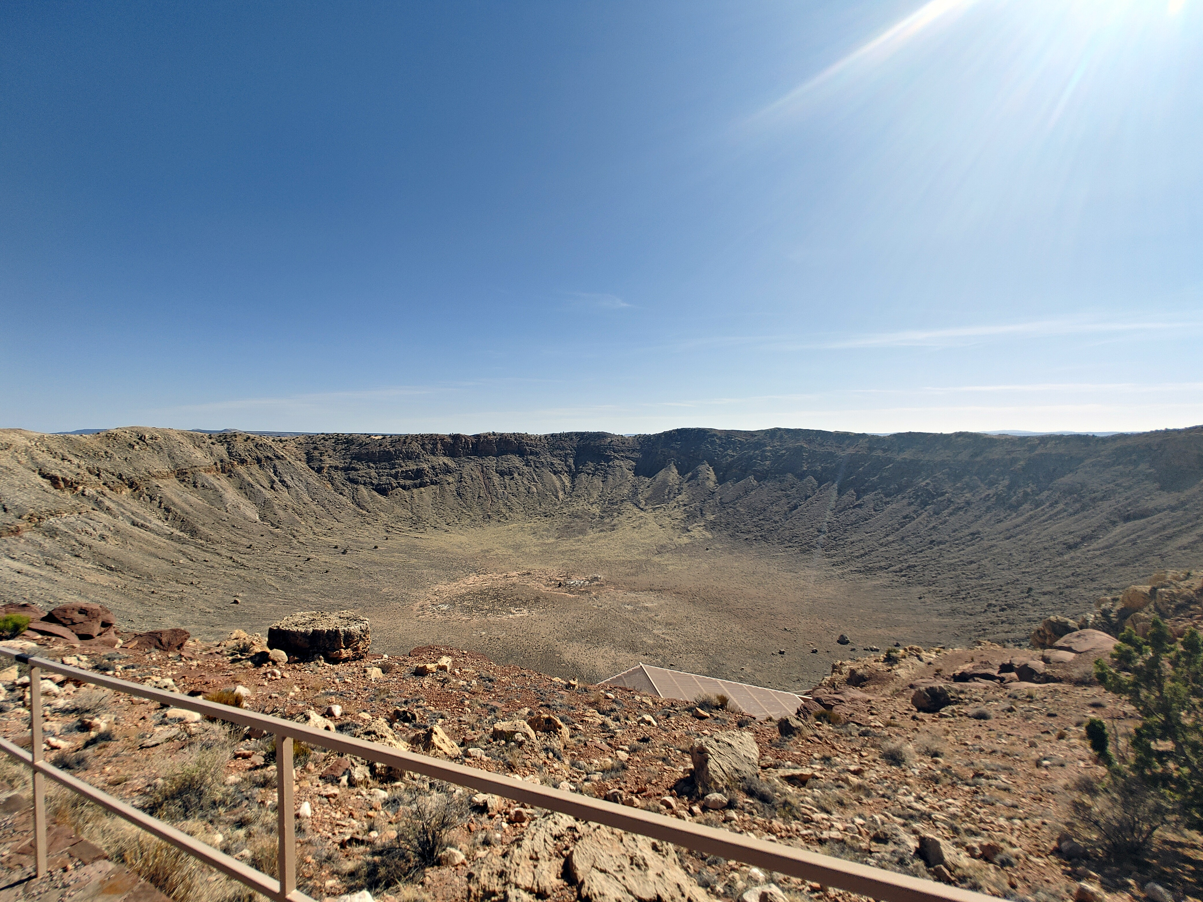 An Other Worldly Experience: Meteor Crater National Landmark (Winslow, AZ)