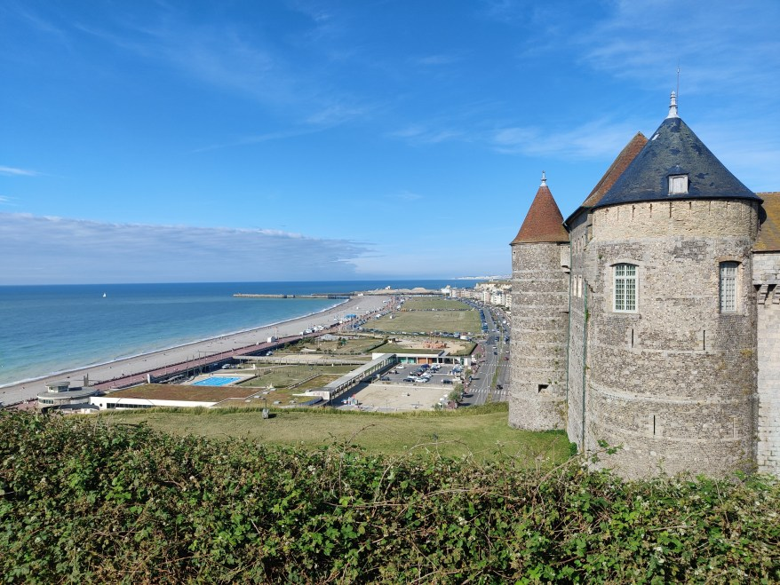 the Dieppe Castle, Family Friendly Cities in France