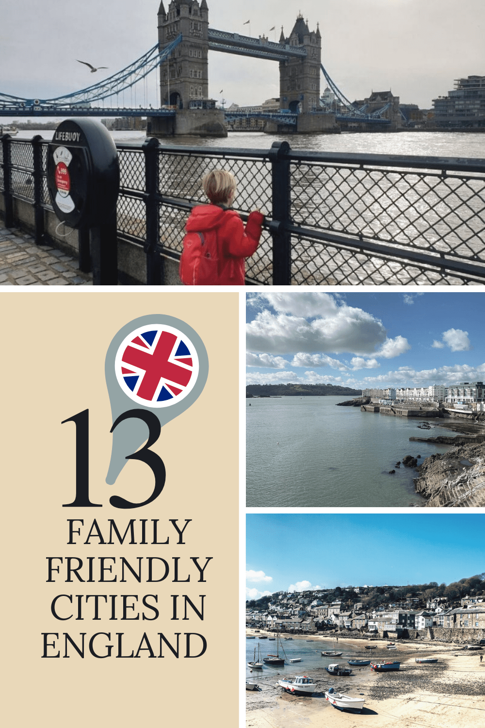 Discover some of the best family friendly cities in England that make the perfect getaway for your next family vacation