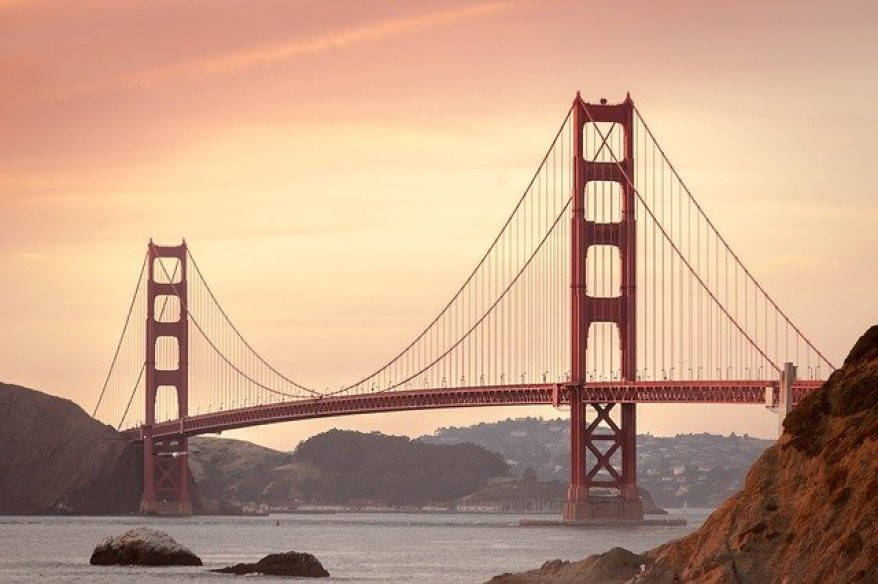 golden gate bridge, best places to visit in the us