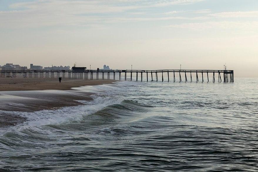 Ocean City beach and pier