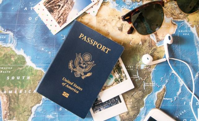 Passport and documentation for travel