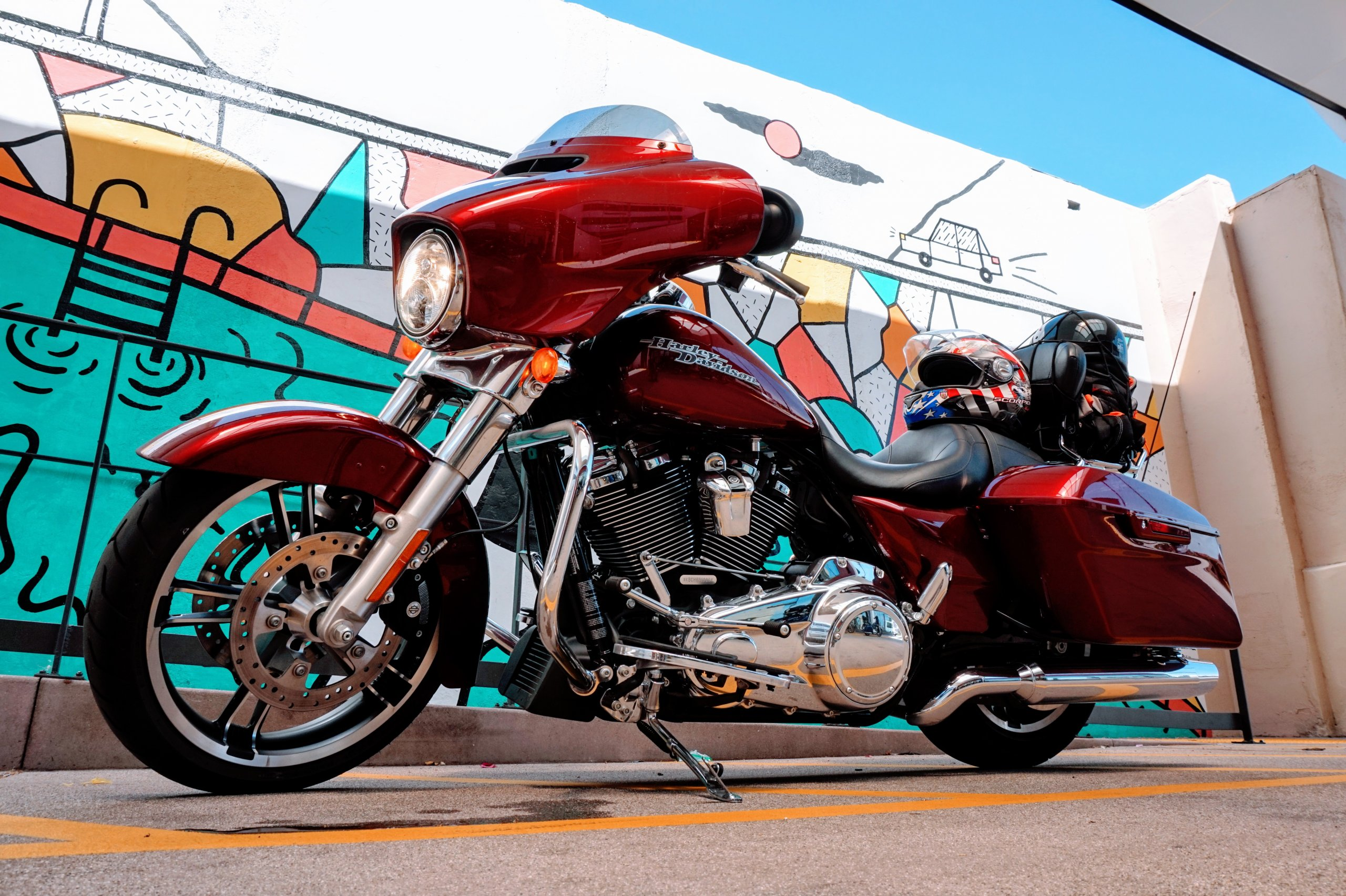 Harley Davidson California Dreamin' Road Trip