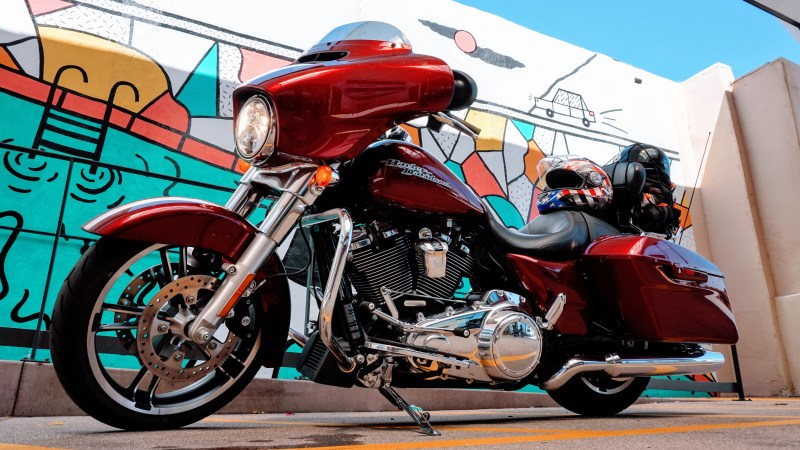 Harley Davidson California Dreamin' Road Trip
