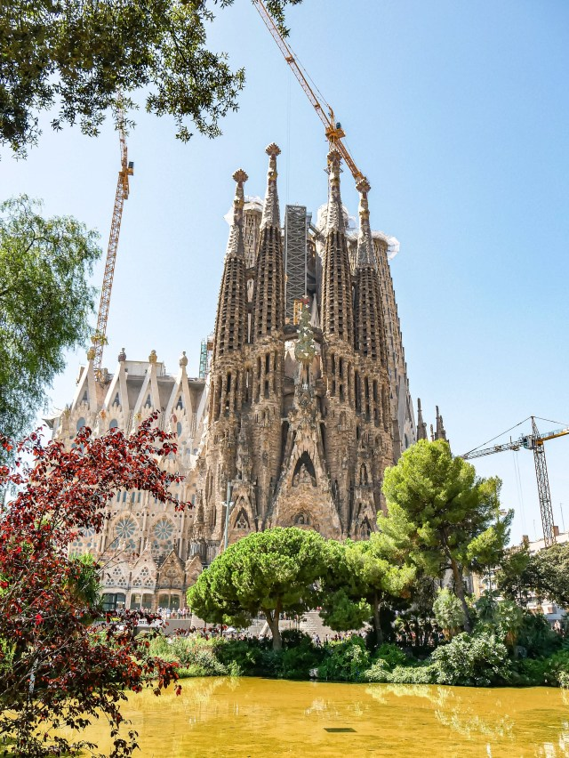 La Sagrada Familia in Barcelona Spain