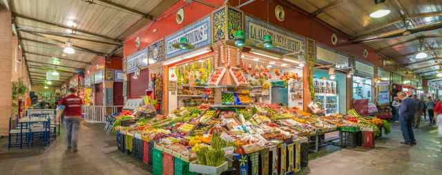 mercado de triana seville spain
