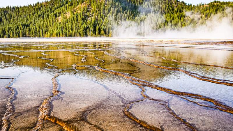 Grand Prismatic Spring & Fairy Falls Travel Video