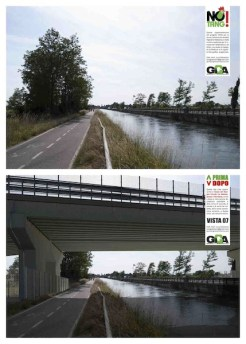 Ponte superstrada Naviglio Grande
