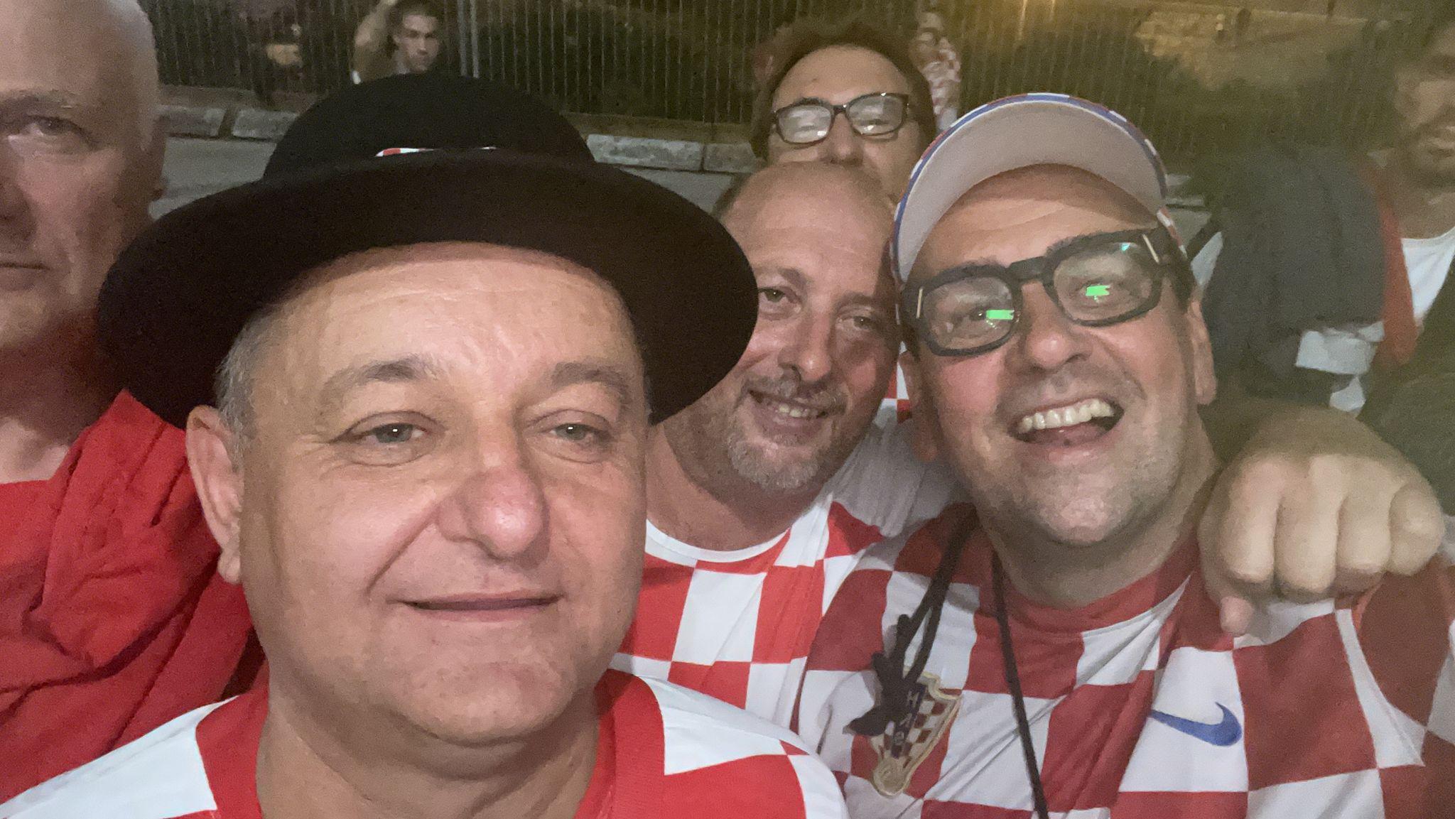 Atmosfera pred utakmicu Hrvatska – Slovenija